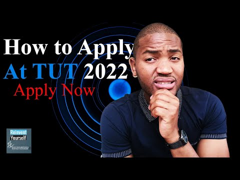 2022 TUT First Applicants   How to apply at Tshwane University of Technology? Easy!