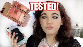 MAKEUP PHONE CASE!?! TESTED. (BRUTALLY HONEST)
