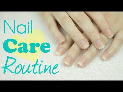 My Nail Care Routine Cutepolish Youtube