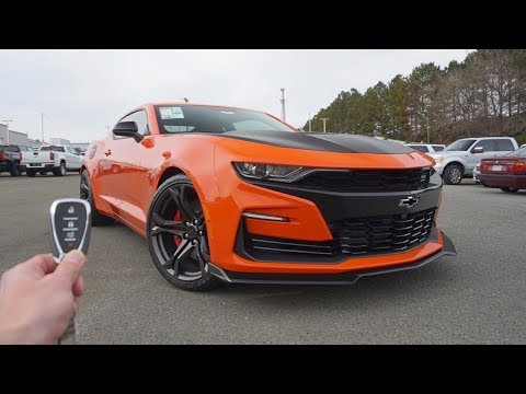 2019 Chevrolet Camaro SS 1LE: Start Up, Exhaust, Test Drive and Review
