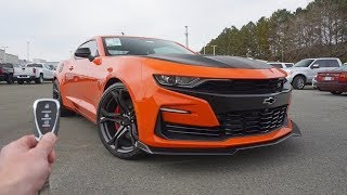 2019 Chevrolet Camaro SS 1LE: Start Up, Exhaust, Test Drive and Review thumbnail