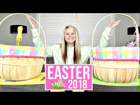 WHAT I GOT MY KIDS FOR EASTER 2018 | DIY EASTER BASKET IDEAS FOR GIRLS