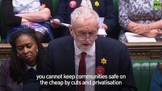 Corbyn at #PMQs: