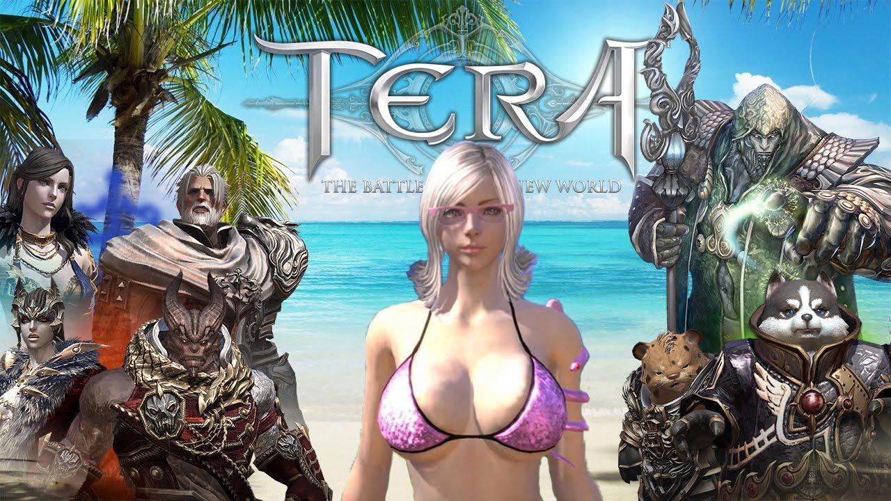 Tera Online - Множество красивых девушек!