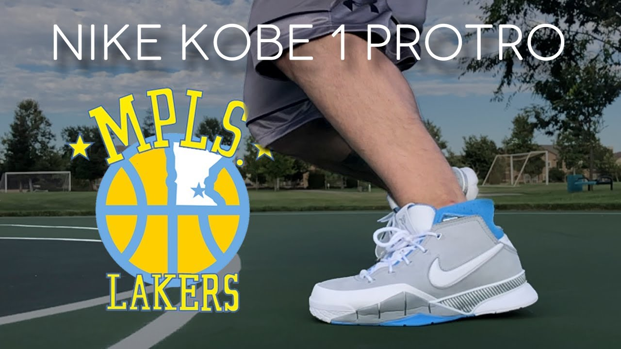 the best attitude 68b2f 939d4 NIKE KOBE 1 PROTRO MPLS REVIEW