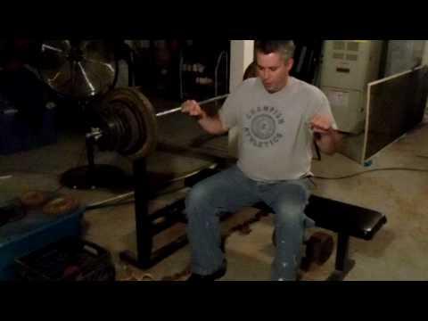 Bench Press Techniques - Poor Man's Home Gym - Part 2 thumbnail