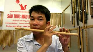 học thổi sáo Anh vẫn hành quân ( mão mèo)