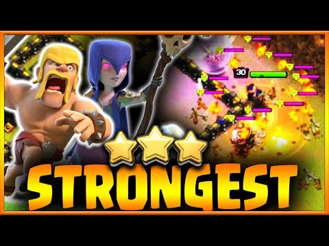 Using THE STRONGEST TH9 Attack Strategies in Clan War | Clash of Clans