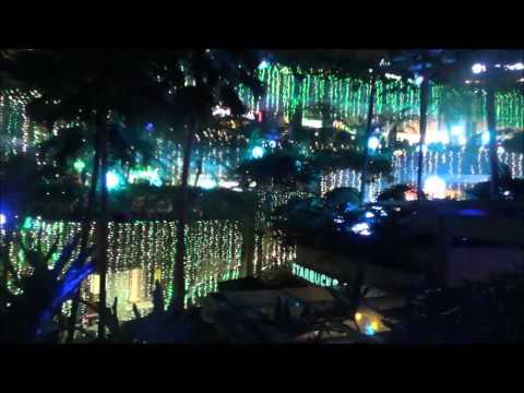 Merry musical light show