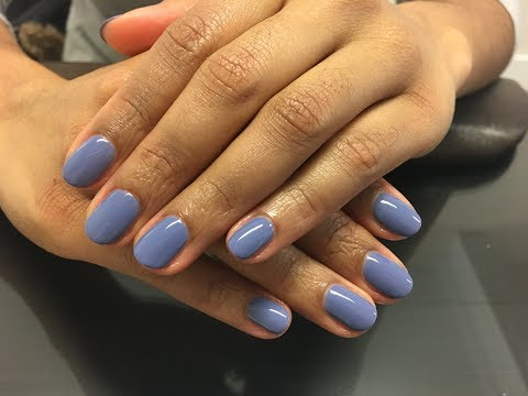 """How does the new CND Creative Play gel polish soak off? Also application of   """"Steel the Show"""" color"""