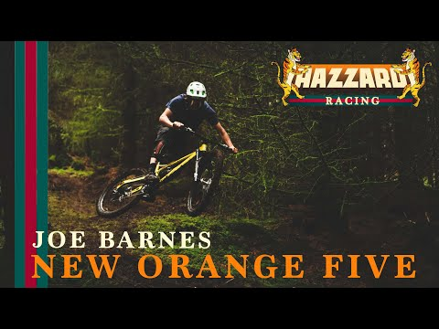 Joe Barnes - ORANGE FIVE BIKE BUILD | Hazzard Racing Spec