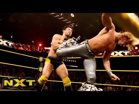 Hideo Itami Vs. Tyler Breeze - No. 1 Contender's Tournament Match: WWE NXT, January 21, 2015