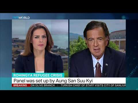 Rohingya Refugee Crisis: Interview with Fmr Governor Bill Richardson