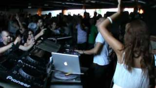 Marco Carola plays his track Play it loud  @ Muretto Maratona 2010
