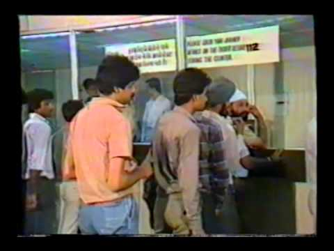 Documentary on computerized reservations system of Indian Railways (Hindi, late 1980s)