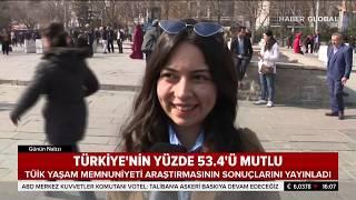 Ne Kadar Mutluyuz? TÜİK'e Verilerine Göre Türkiye'nin Mutluluk Oranı!