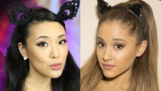 ARIANA GRANDE Halloween Hair & Makeup Tutorial Thumbnail