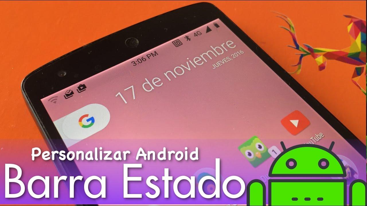 4 Mejores Apps  Personalizar Barra de estado y de Navegación ... cd07da5f141