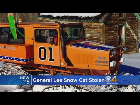 Search For Stolen Tucker Sno-Cat With