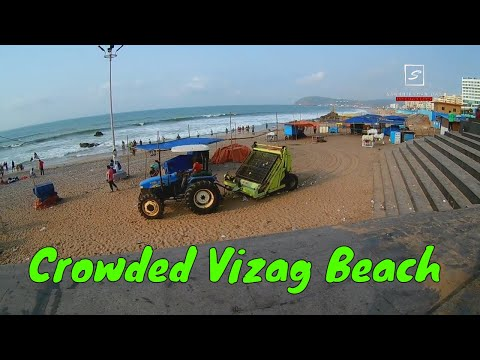 Vizag, India    Ramakrishna Beach   Glimpse Of RK Beach   Morning To Dawn
