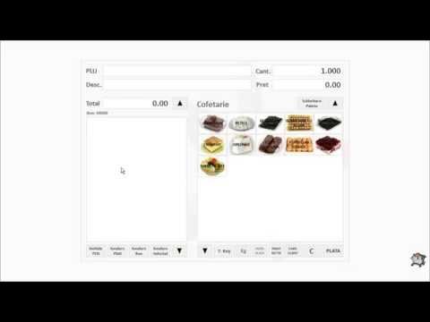 Vanzarea cu SmartCash POS intr-o cofetarie sau patiserie