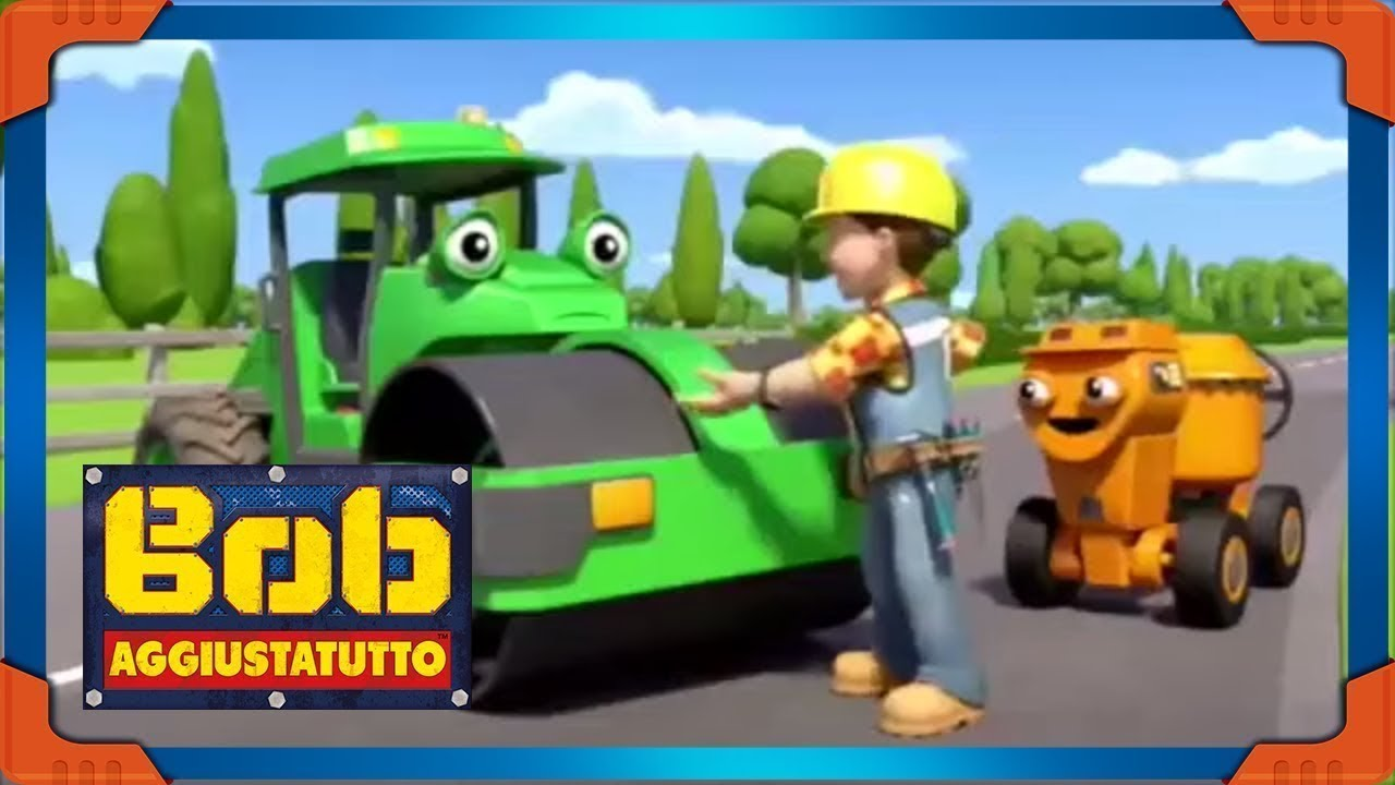 Bob Aggiustatutto italiano episodi nuovi 🌟 Impariamo con Leo \ Pitturare! 🌟 Cartone Animato