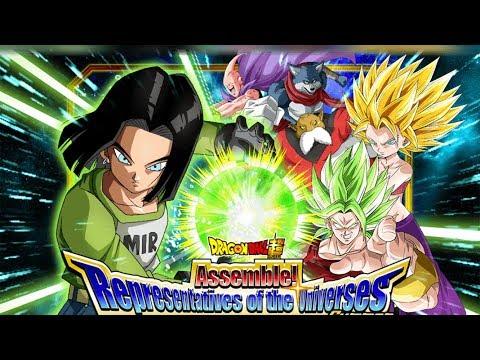 LR PULL?! Assemble! Representatives of the Universes Summoning Event! Dragon Ball Z Dokkan Battle