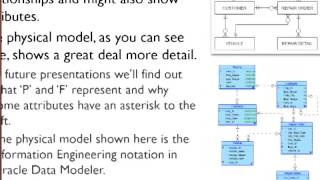 Database Fundamentals (5 of 10) - Logical and Physical Data Models