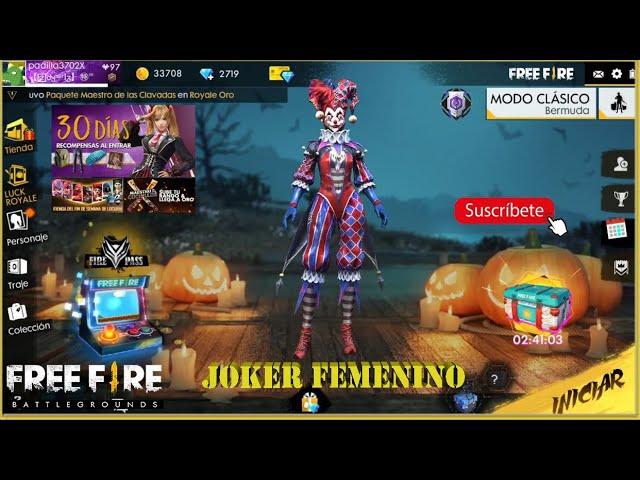 ?? SEGUNDA CUENTA CHETADA??— jugando con traje joker femenino / TheBilly14