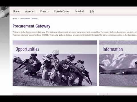 EDA Procurement Gateway