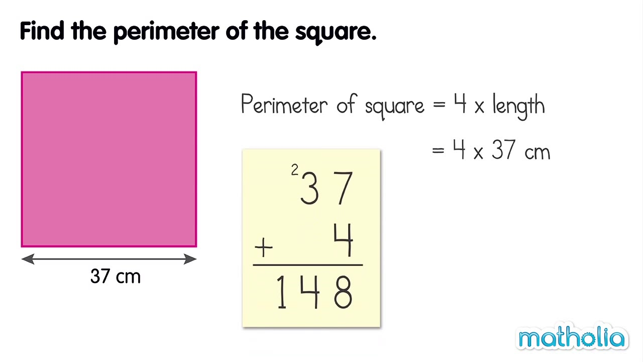 Image result for perimeter of a square