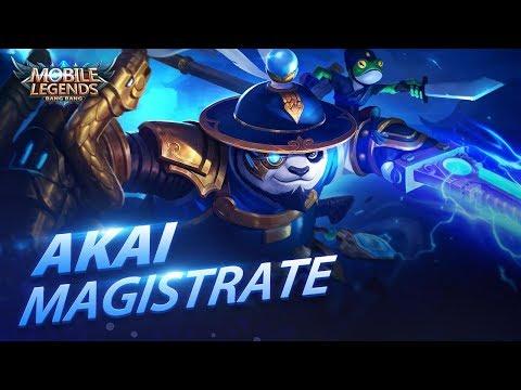 Akai New Skin | Magistrate | Mobile Legends: Bang Bang! thumbnail