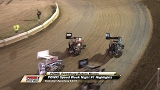 Belle-Clair Speedway POWRi Speedway Motors Micro Sprint Feature Highlights