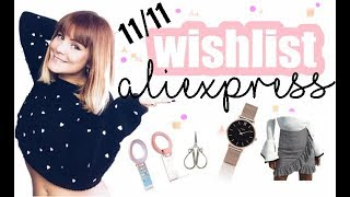 ALIEXPRESS 11/11 WISHLIST/DATOS 2017