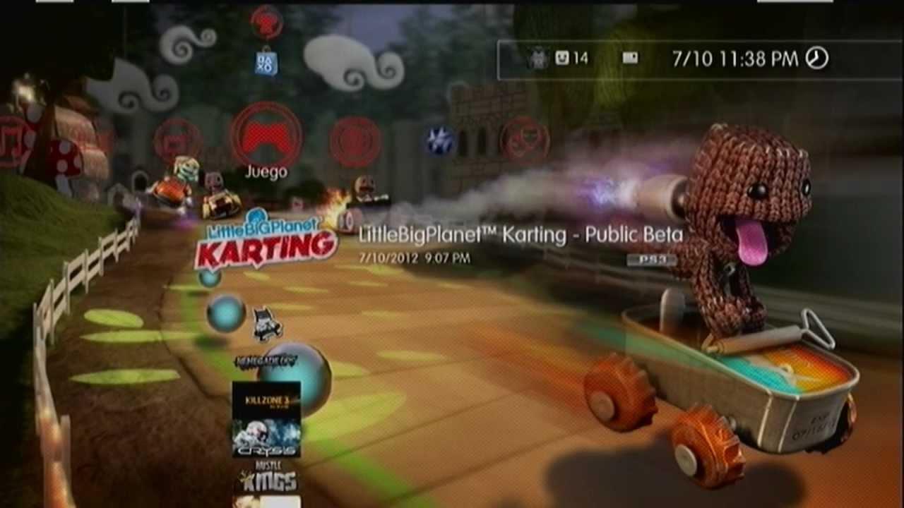 Littlebigplanet Karting Public Beta Ps3 Youtube