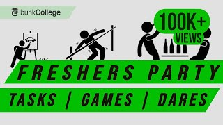 11 Freshers Party Games, Tasks, Dares and Pranks - BunkCollege