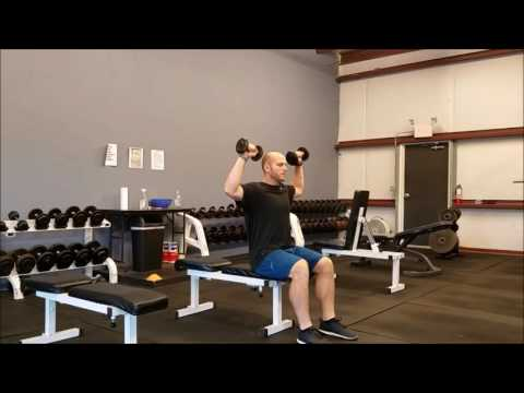 Seated DB Power Clean