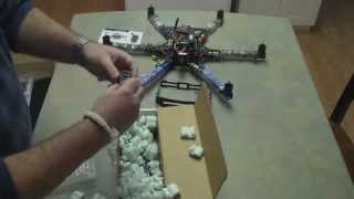 Unboxing the udrones.com 3DR Hexacopter