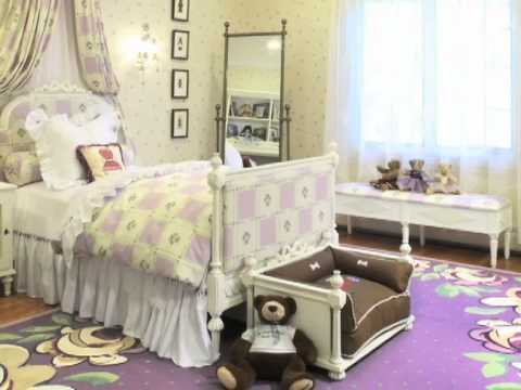 Designer Luxury Girl's Bedroom Princess Room RoomsByZoyaB YouTube Fascinating Designer Girls Bedroom