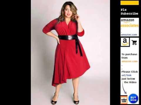 plus-size-asymmetrical-skirt-black-dress-romance