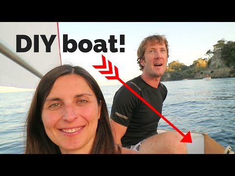How to Build an 8 Foot Tender Which Folds to 4 Inches Wide! | ⛵ Sailing Britaly ⛵