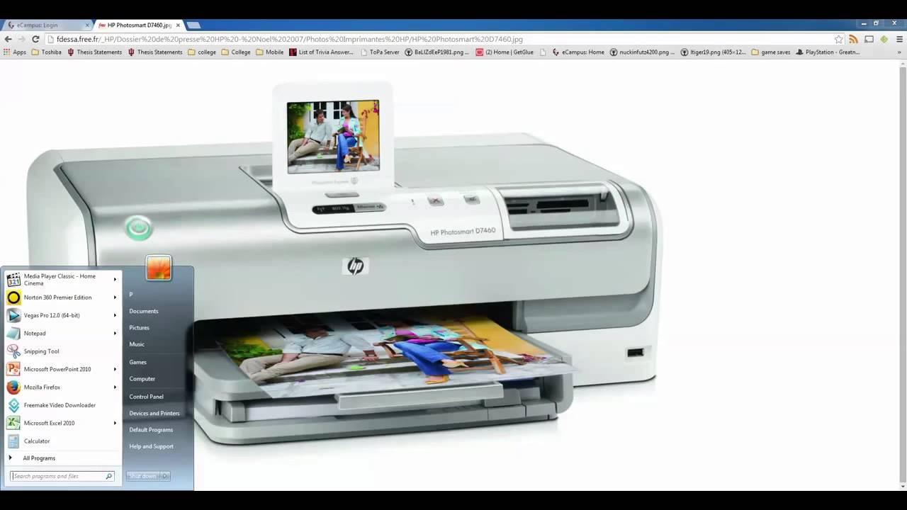 Error code 0xc18a0106 on HP Photosmart printers - mir aus Hp photosmart d7260 ink system failure