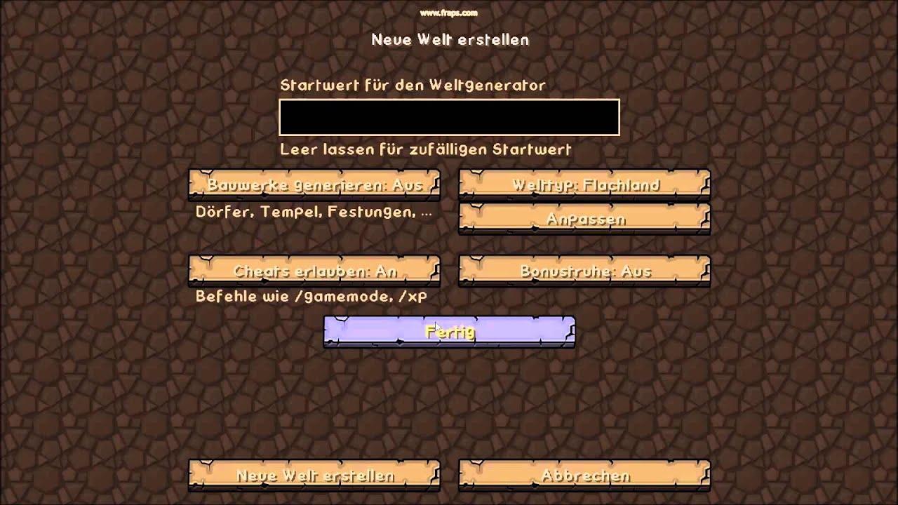 minecraft bedwars server erstellen deutsch
