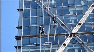 Epilepsy Society's journey down Broadgate Tower