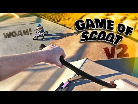 SCOOTER BRAD Vs CORY GRIFF GAME OF SCOOT V2