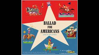 Dick Byron - Ballad For Americans (Golden Records)