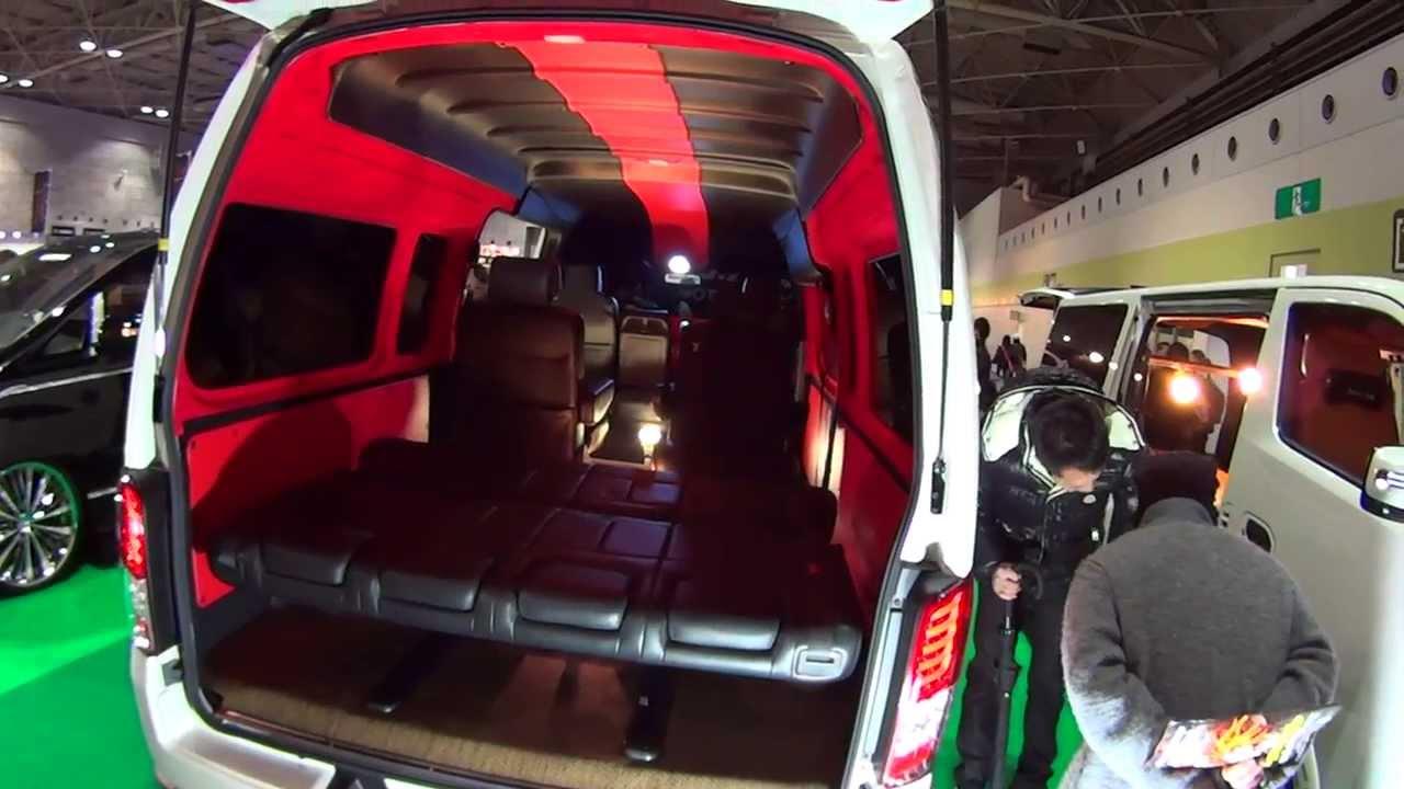 NISSAN NV350 CARAVAN WIDE LONG custom 2014 - YouTube