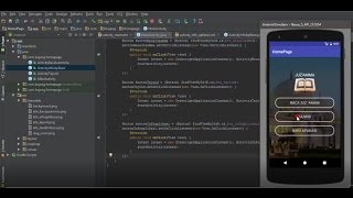Tutorial Android Studio How To Make Activity Home Page
