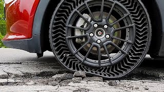 Michelin Airless Tire UPTIS - Unique Puncture-Proof Tire System