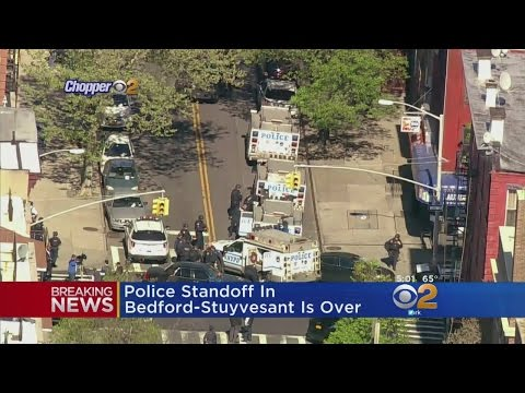 Bed-Stuy Police Standoff Over